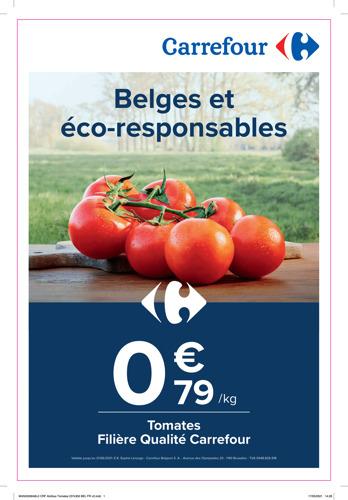 """Carrefour rend le meilleur accessible à tous avec la campagne """"Prix sains"""" : des petits prix avec de grands principes"""