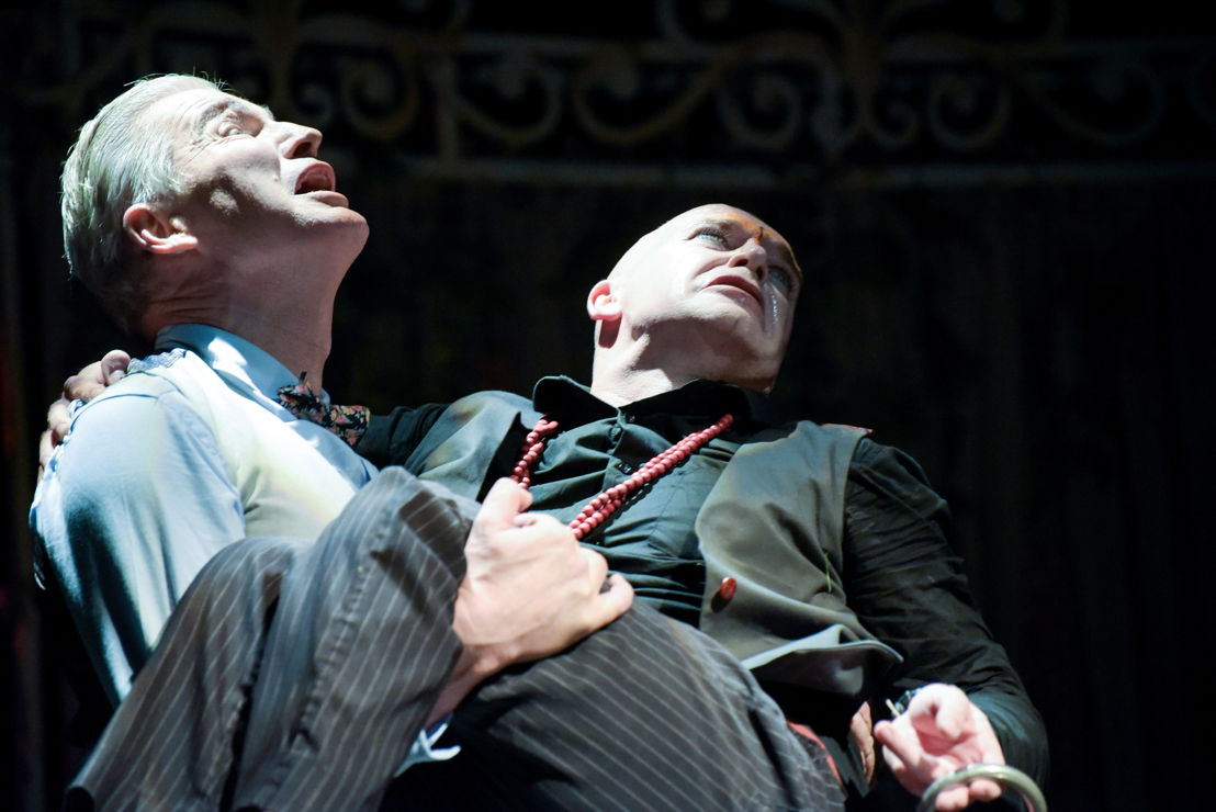 Craig Morris and Neil McCarthy in Tartuffe credit Dee-Anne Kaaijk