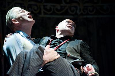 Craig Morris and Neil McCarthy in Tartuffe credit Dee-Anne Kaaijk