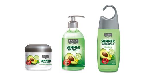 Bodysol verwent je huid met zomerfrisse smoothies