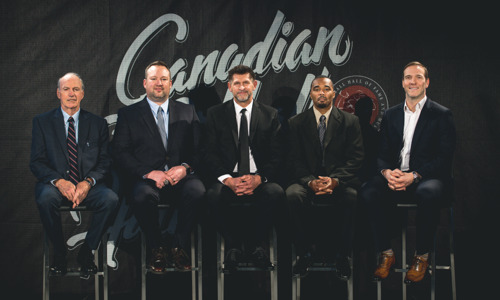 THE 2018 CANADIAN FOOTBALL HALL OF FAME CLASS UNVEILED IN WINNIPEG