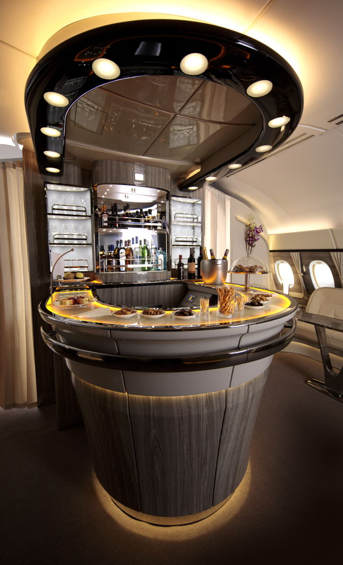 1 August - Emirates newly revamped Onboard Lounge takes to the skies