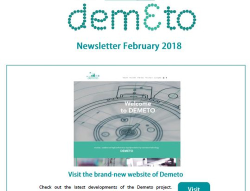 DEMETO Newsletter February 2018