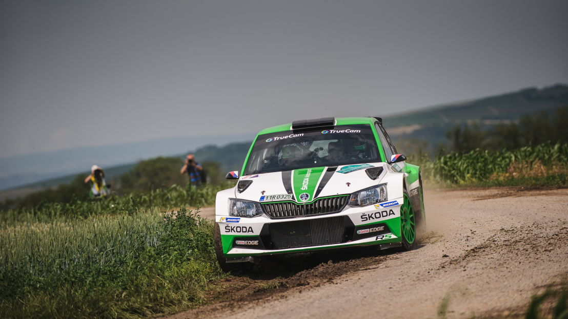 At Rally Bohemia Jan Kopecký and Pavel Dresler (CZE/CZE), driving a ŠKODA FABIA R5, chase their fifth win in a row in the Czech Rally Championship.
