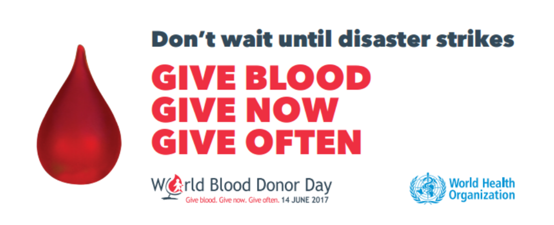 OECS Recognises World Blood Donor Day