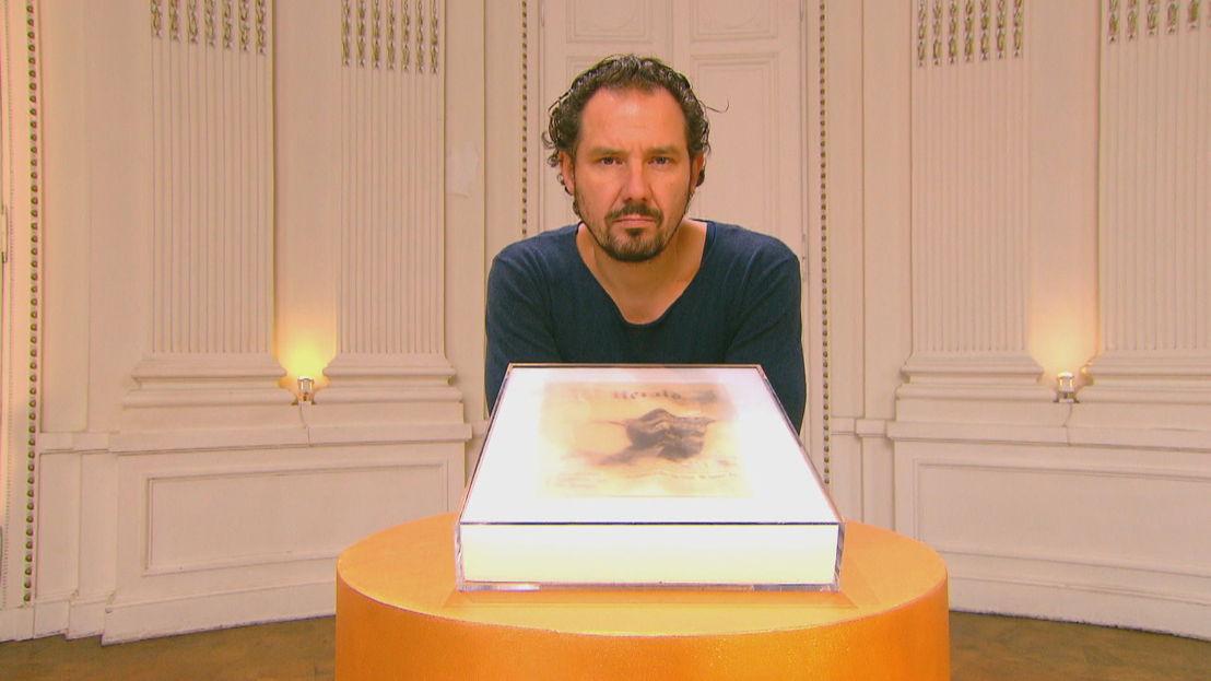 Axel Daeseleire met werk van Antwerpse kunstenaar Denmark