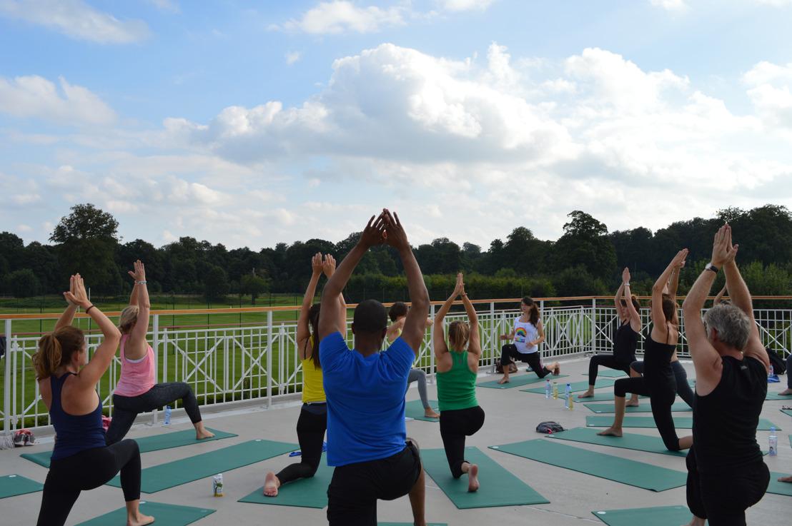 Yoga@DROH!ME, kom tot rust op de rooftop van de Grote Tribune!