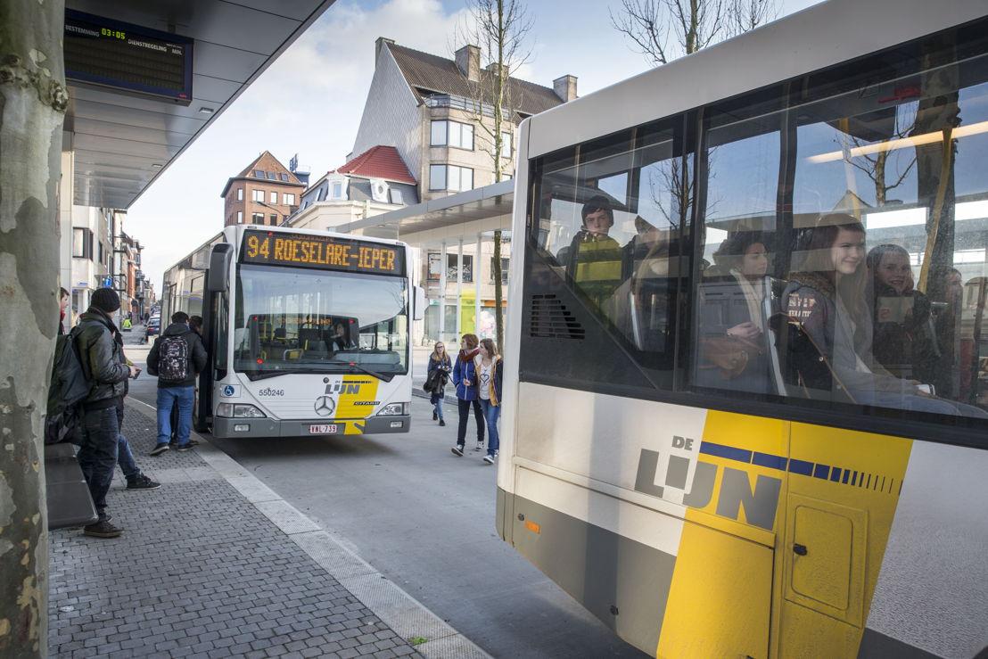 Op 1 september past De Lijn het aanbod aan op 137 lijnen.