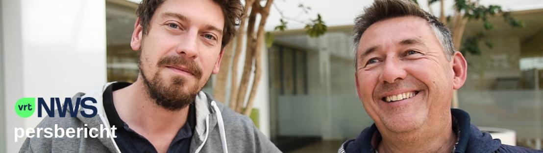 Rudi Vranckx en Vincent Byloo lanceren podcast 'Vranckx & Byloo'