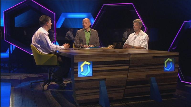 Bart Fonteyn en Geert Tanghe in de Canvascrack