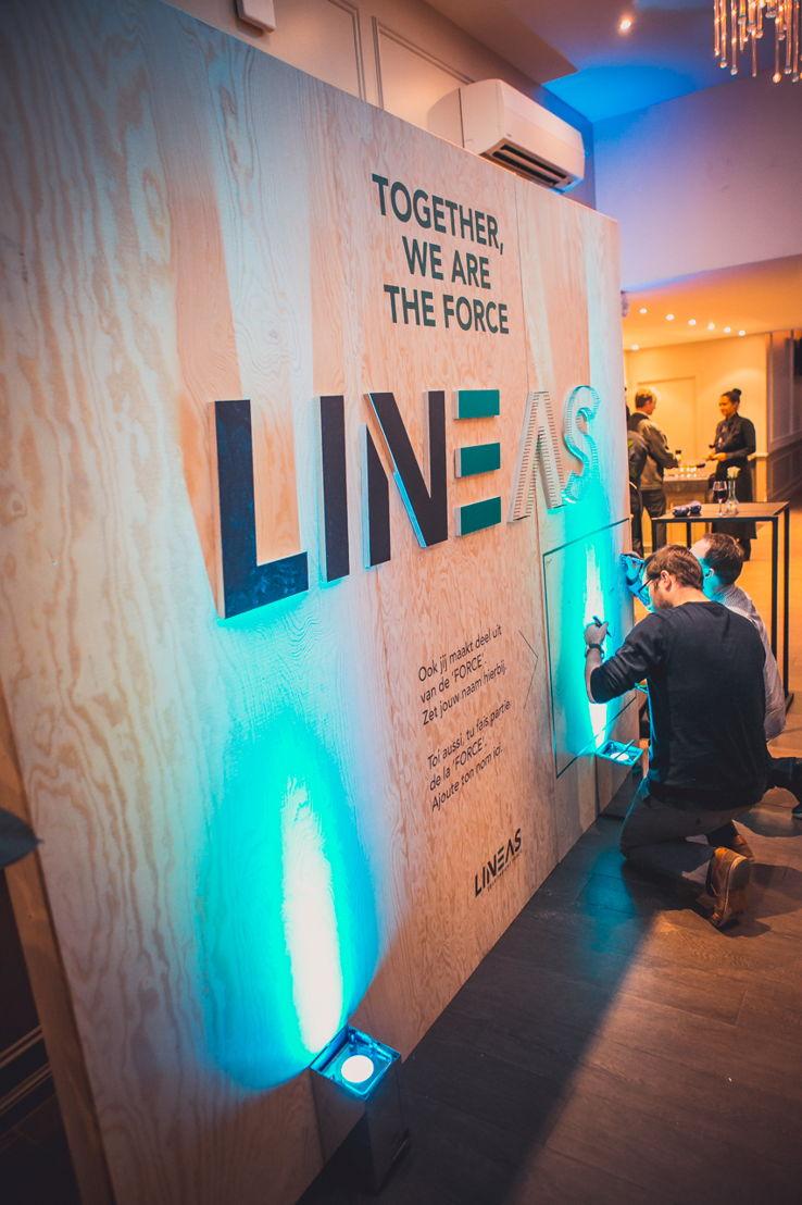 Lineas - interne lancering