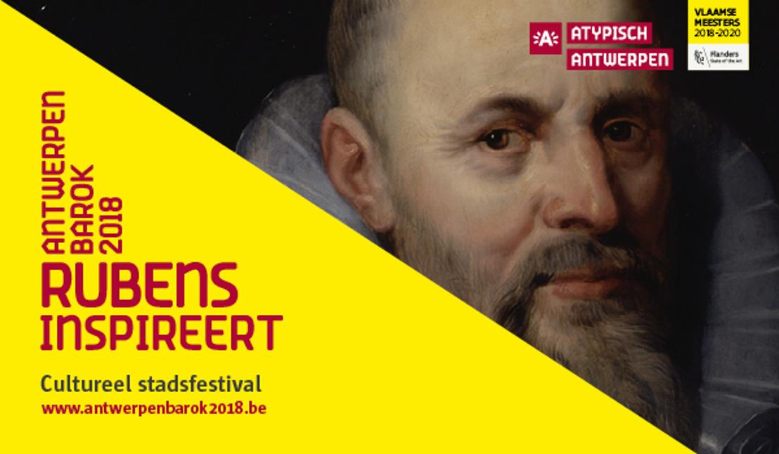 04.09.18 Persnieuwsbrief september 'Antwerpen Barok 2018': Ook dit najaar staat Antwerpen in het teken van barok