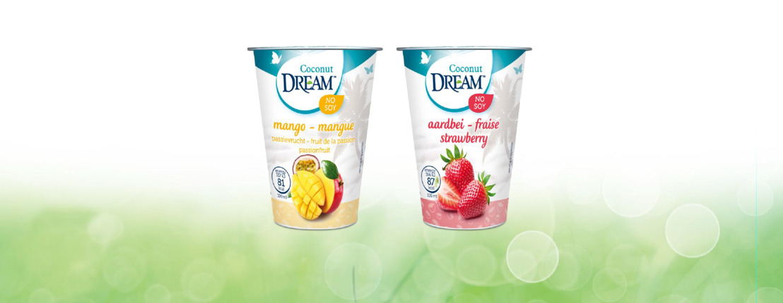 Nouveau :: DREAM lance un produit alternatif qui remplace le yaourt : Dream Cocosgurts.