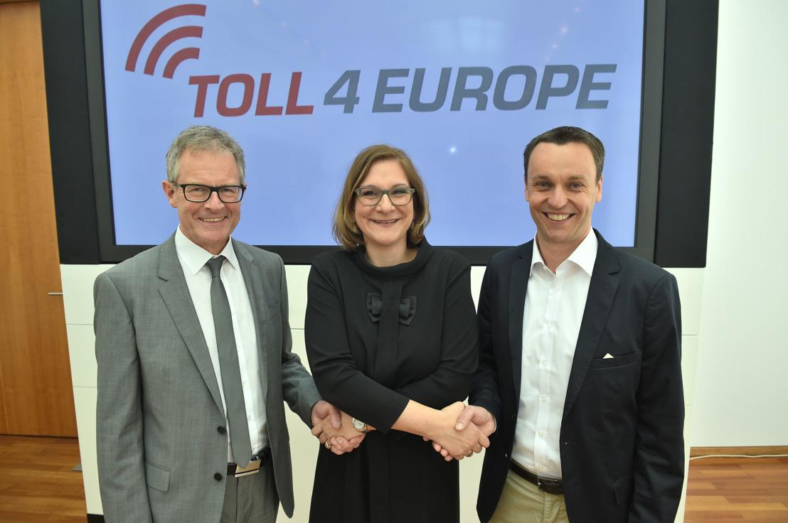 Joint-venture Toll4Europe GmbH van start voor het afrekenen van tol door heel Europa met slechts één box