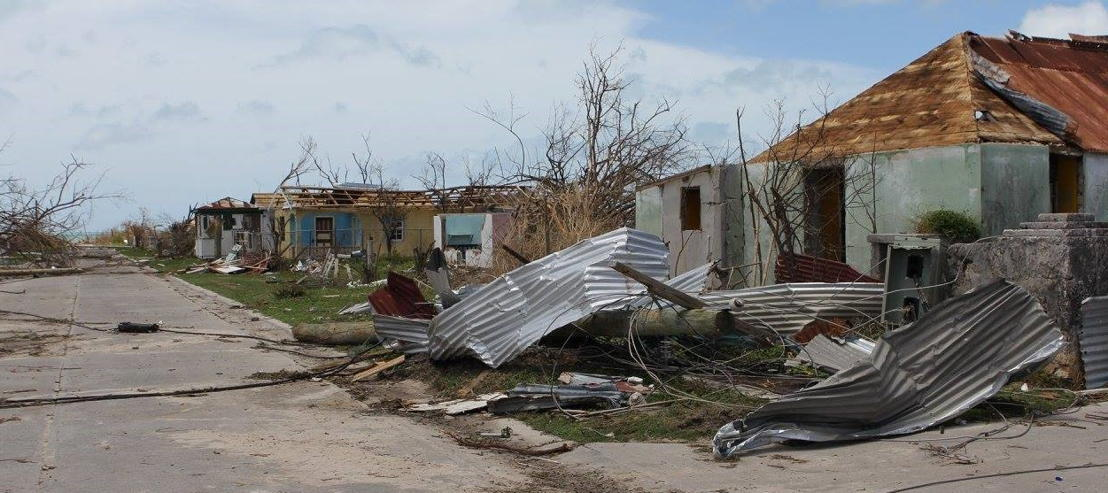 The aftermath of Hurricane Irma in Barbuda.