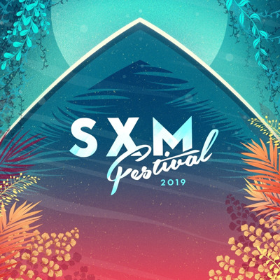 SXM Festival press room Logo