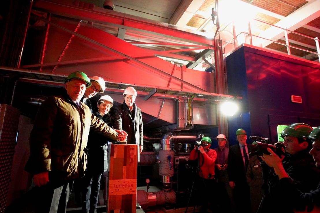 Luminus investit dans une nouvelle installation de cogénération pour un chauffage urbain encore plus durable à Gand