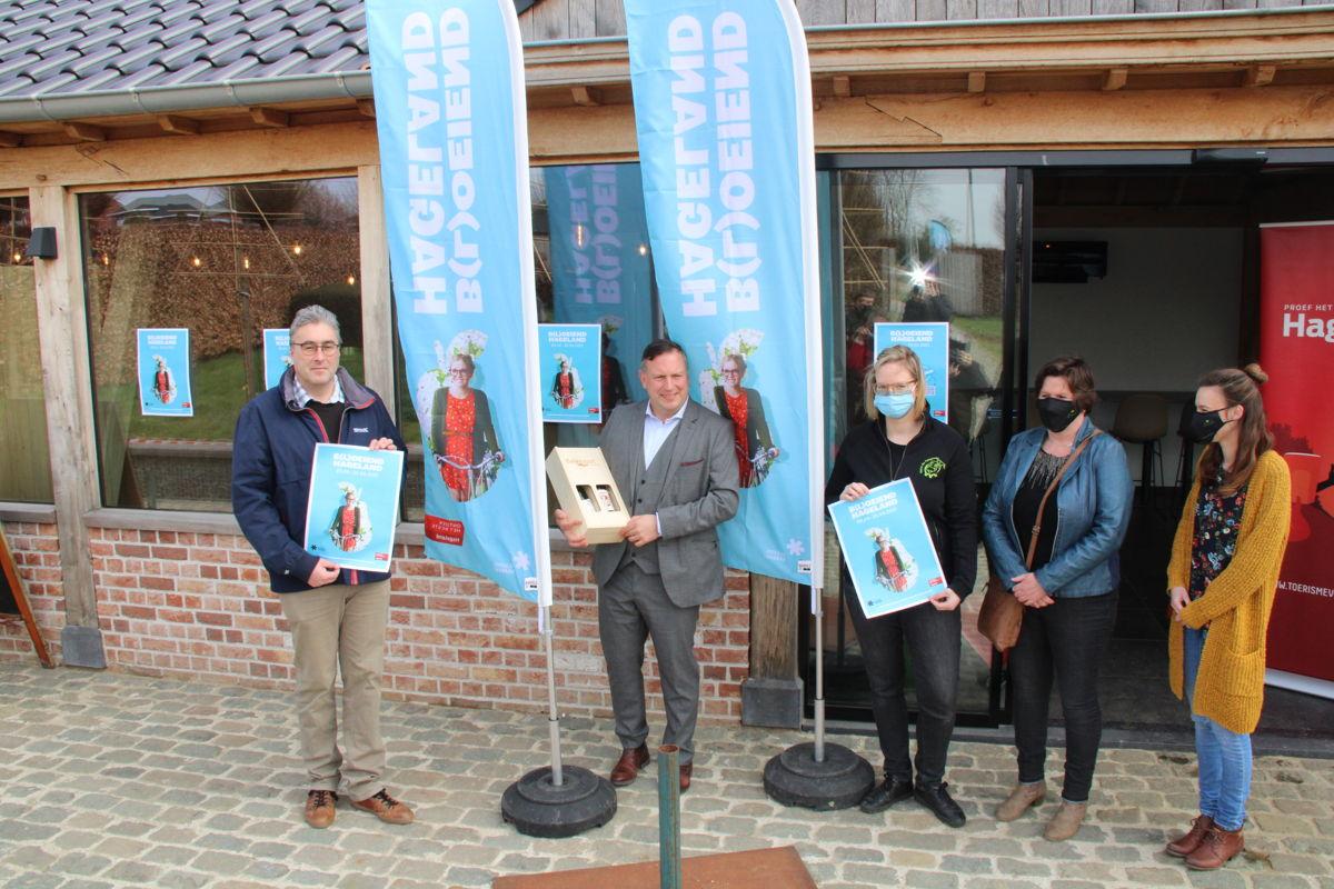 Foto: voorstelling van B(l)oeiend Hageland op 26 maart op de Peinwinning in Bekkevoort
