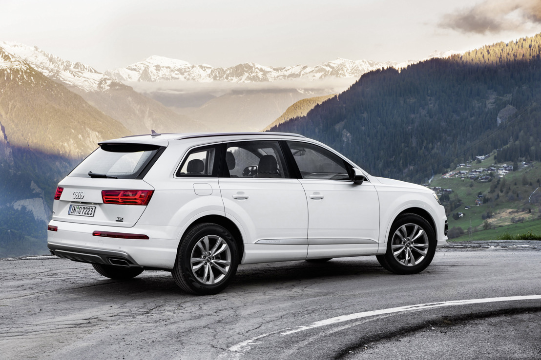 Nieuwe Audi Q7 met uiterst energie-efficiënte diesel