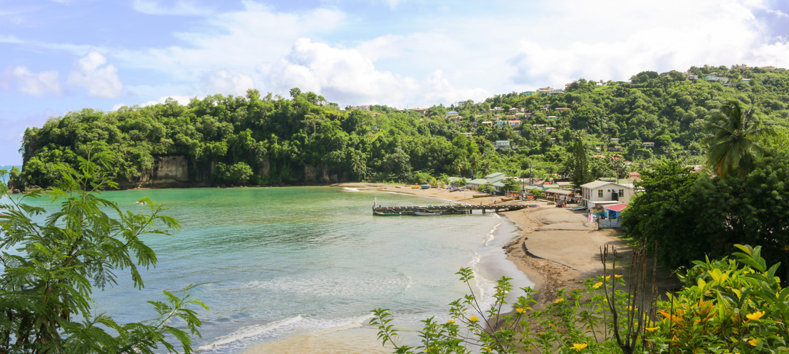 New Zealand High Commissioner inspects river bank stabilisation in Anse La Raye Community, Saint Lucia