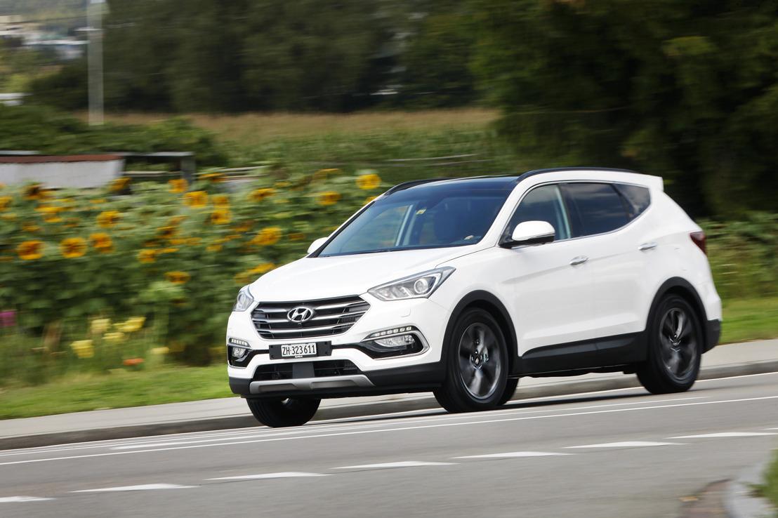 Information de presse - New Hyundai Santa Fe – un SUV qui met les gaz!
