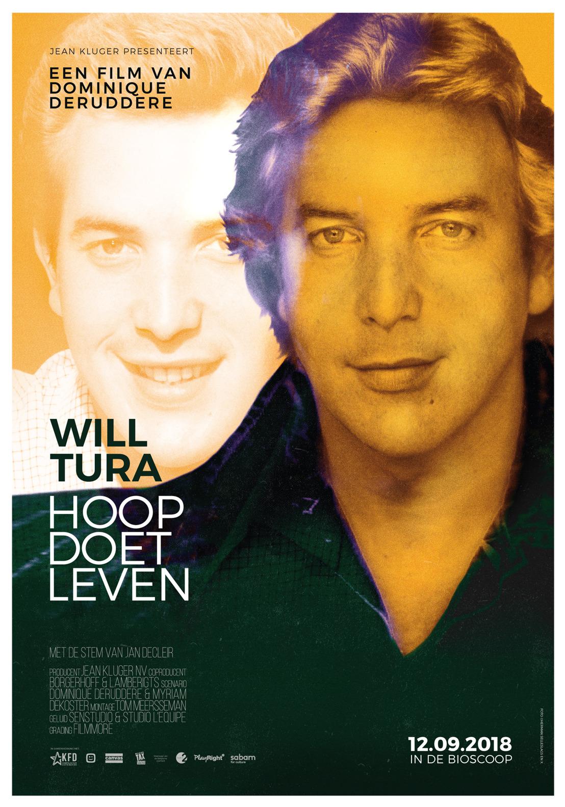 Ontdek hier de eerste beelden van de documentaire 'Will Tura, Hoop doet leven' met en over Will Tura