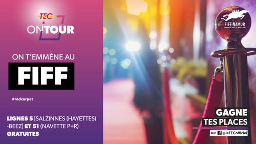 Grâce à votre FIFFpass, rendez-vous dans le centre-ville gratuitement.