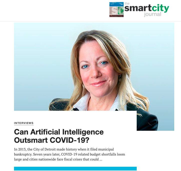 Can Artificial Intelligence Outsmart COVID-19?