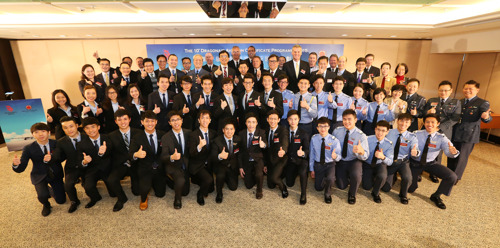 10th anniversary of Dragonair Aviation Certificate Programme gives 32 young people the chance to fly high