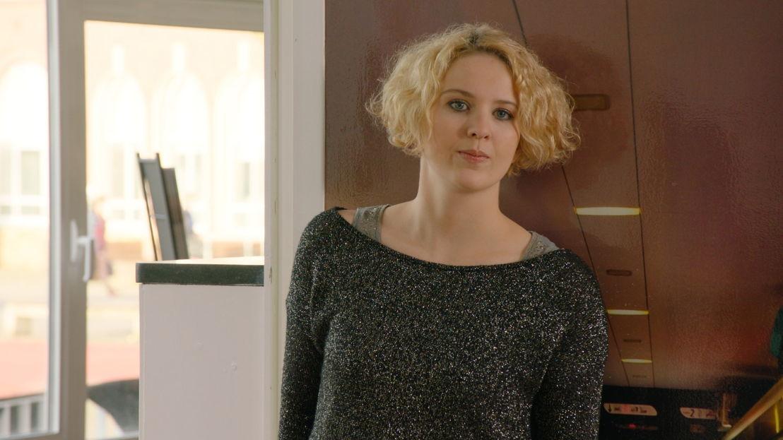 Ditte Jaspers speelt Jessica Engels (c) VRT