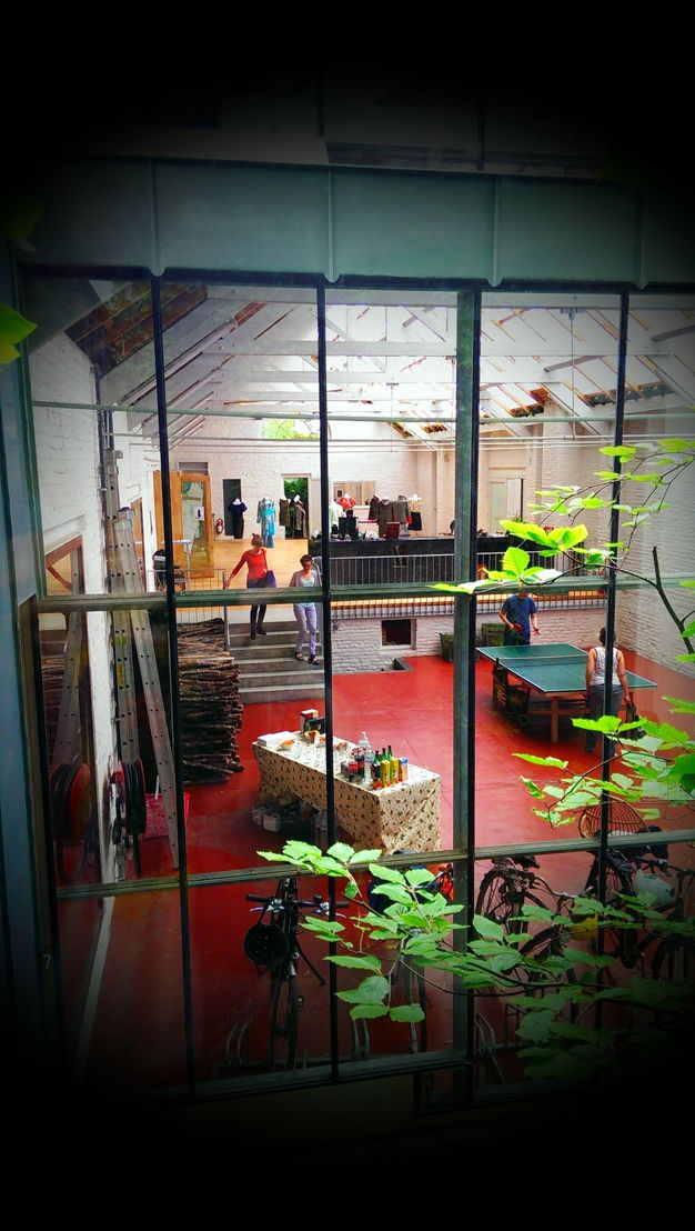 De open space van Namahn. Fotografie: Joannes Vandermeulen, Namahn. Kristel Van Ael & Joannes Vandermeulen, Namahn - Henry van de Velde Lifetime Achievement Award 16