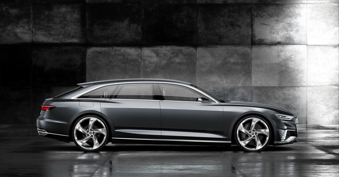 Le showcar Audi prologue Avant brille de mille feux à Genève