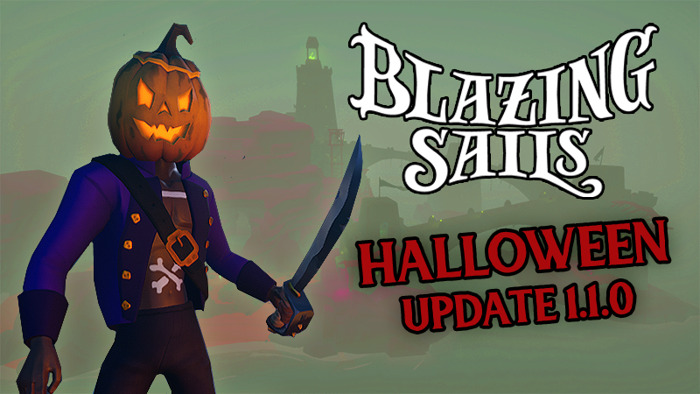 PC Multiplayer Games Blazing Sails & Circle Empires Rivals Release Scary NEW Content This Halloween!