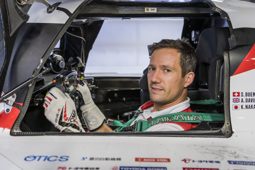 Sébastien Ogier prêt pour l'essai de l'Hypercar