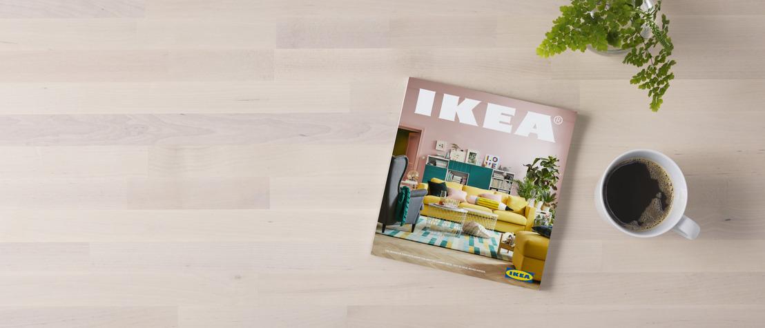 Nieuwe IKEA catalogus maakt plaats voor wat er écht toe doet