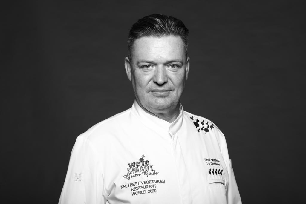 Chef René Mathieu (La Distillerie) - winner We