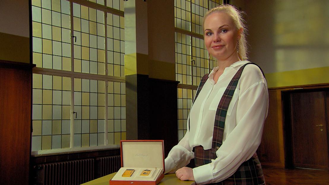 Lesley-Ann Poppe wil gouden aansteker en sigarenknipper verzilveren in Stukken van Mensen