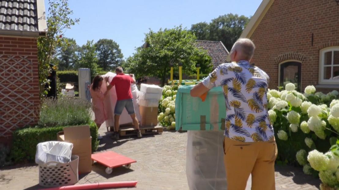 Meilandjes tonen hun nieuwe woning in Nederland