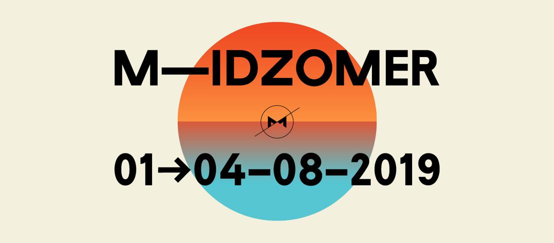 Affiche compleet: aftellen naar M-IDZOMER