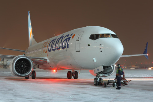 flydubai's Boeing 737 MAX 8 now flying from Sheremetyevo