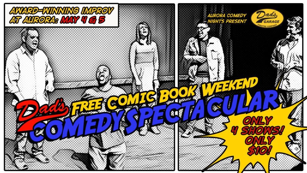 Dads Garage Comic Book Weekend