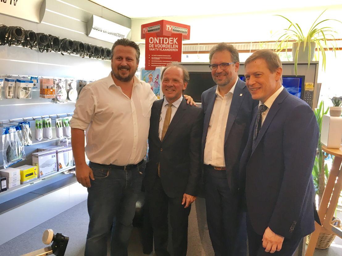 Minister Muyters licht hinderpremie toe aan handelaar