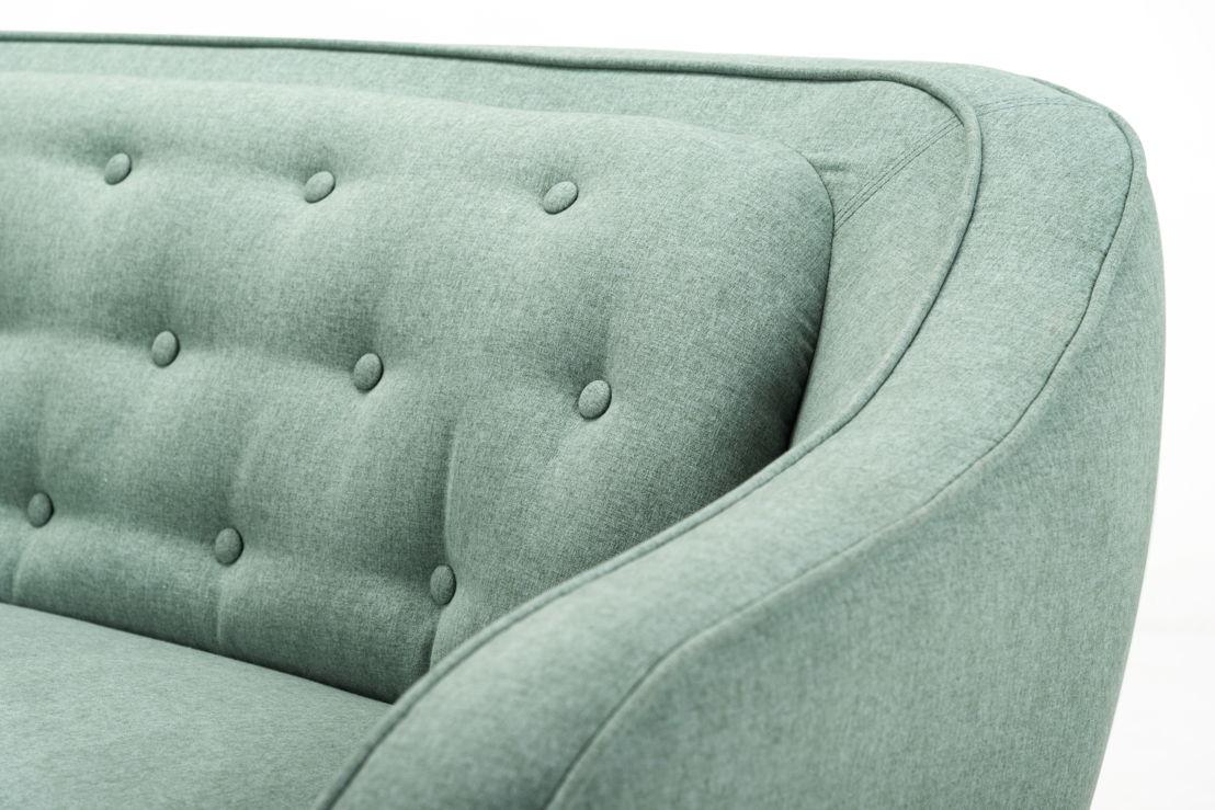 Vilmar, 3-seater sofa, Olena Antracit, Oak soap