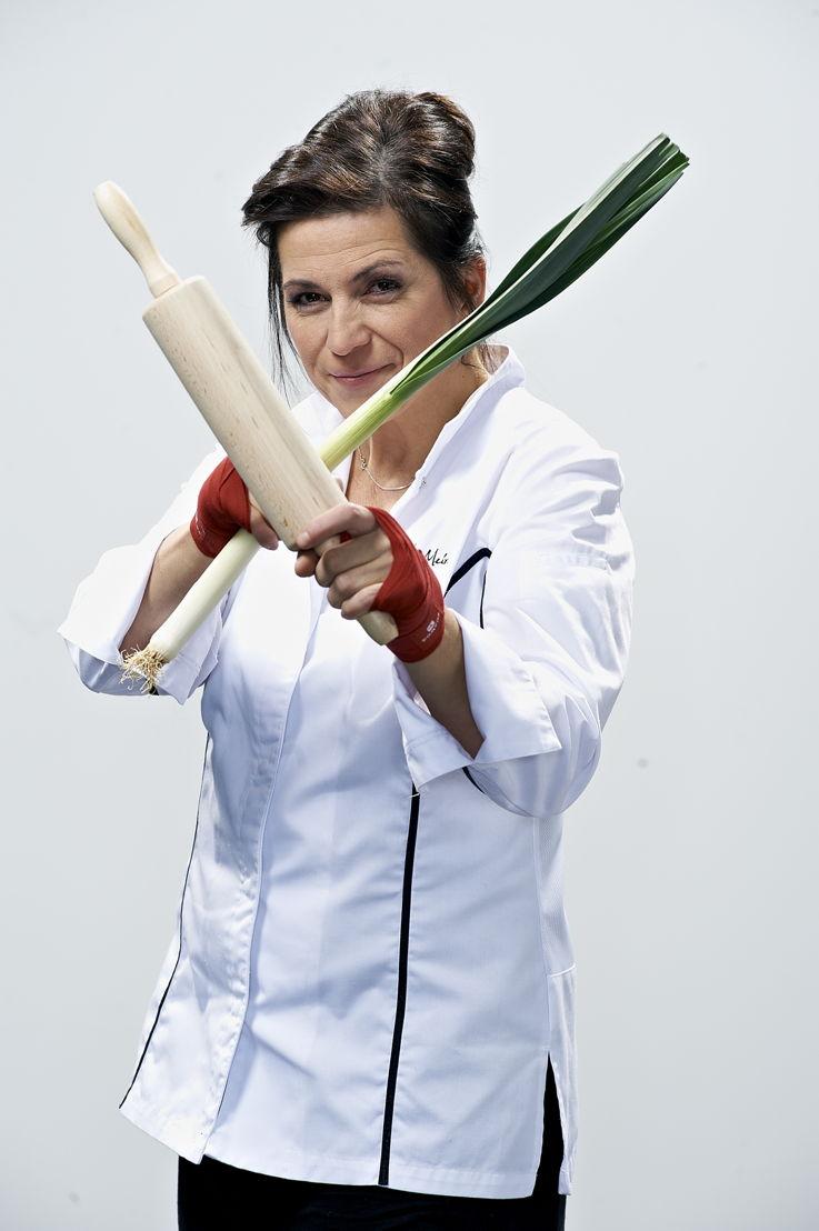 Jurymember Arabelle Meirlaen, chef étoilé du restaurant Li Cwerneu à Huy
