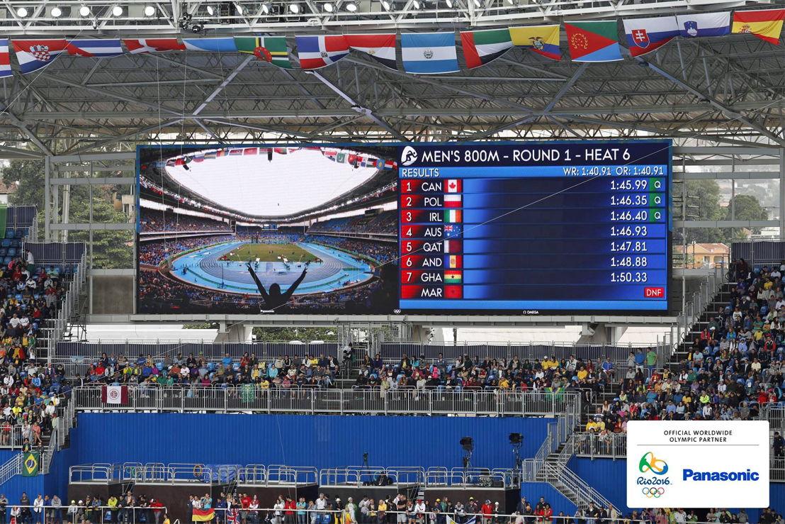 Panasonic @ JJOO Rio 2016 Pantallas LED en Estadio Olimpico