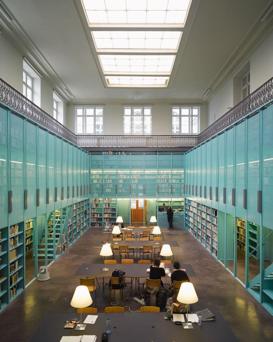 Architectuurbibliotheek Ugent © OFFICE Kersten Geers David Van Severen / Bas Princen