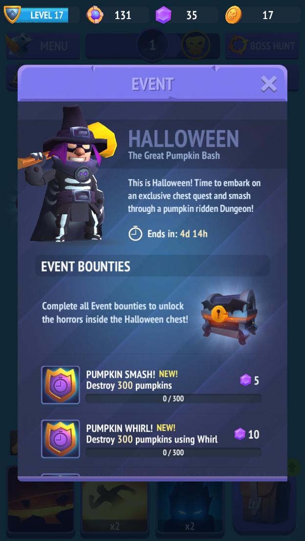 Halloween challenge time