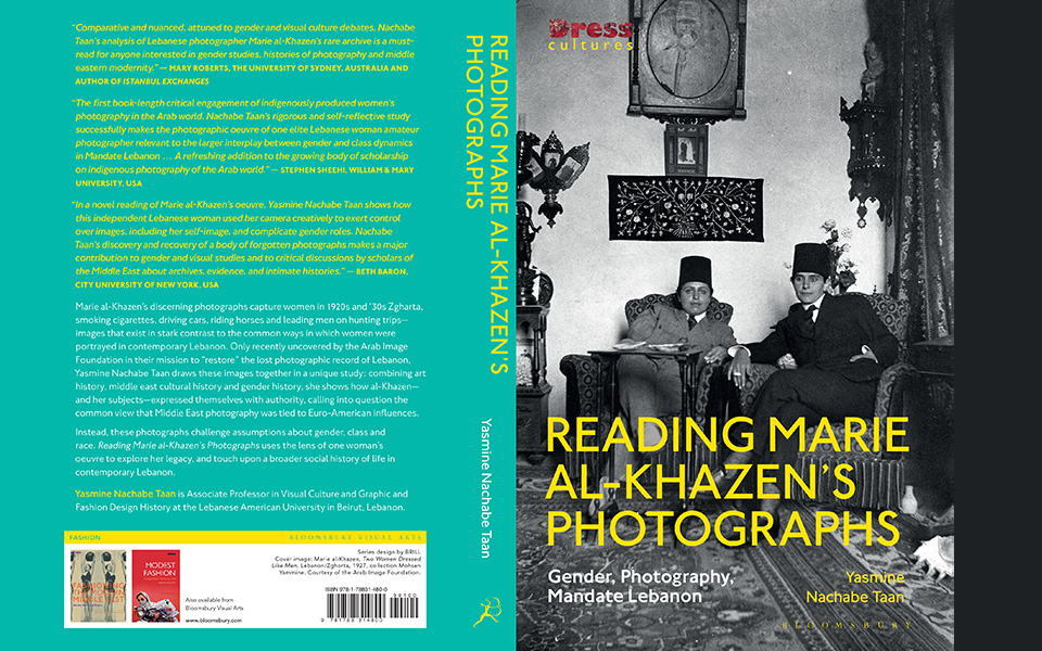 Book cover: Reading Marie al-Khazen