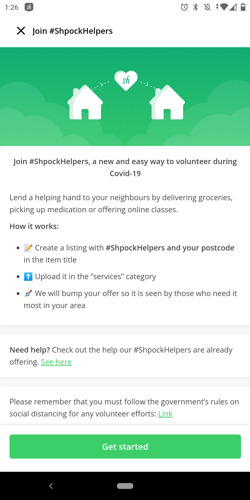 Shpock launches #ShpockHelpers to connect volunteers with their self-isolating neighbours