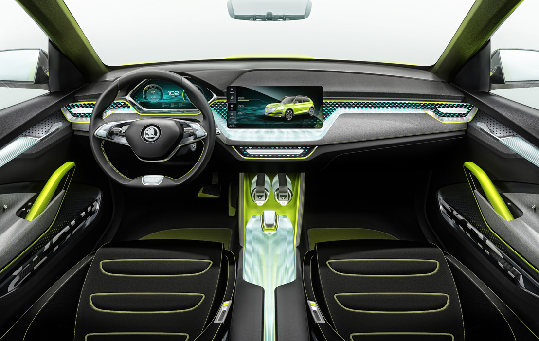 ŠKODA AUTO DigiLab and Connectivity Department present visionary mobility ideas at the Geneva Motor Show
